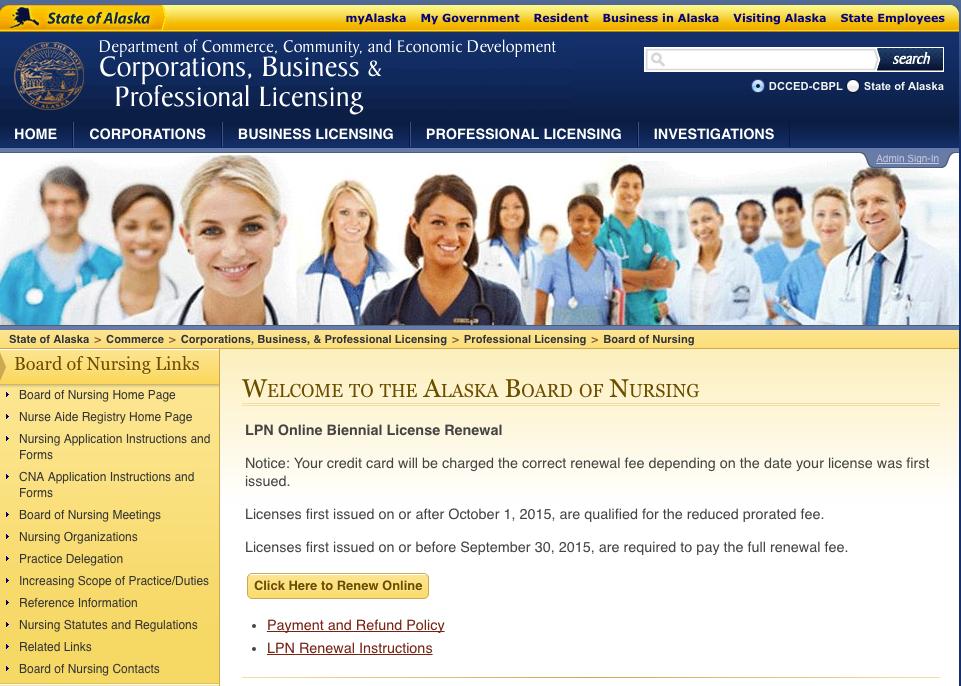"""""""RN License Verification AK"""""""