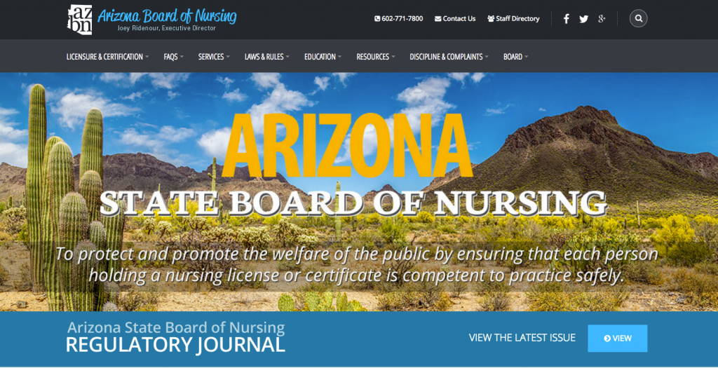 """RN License Verification AZ"""
