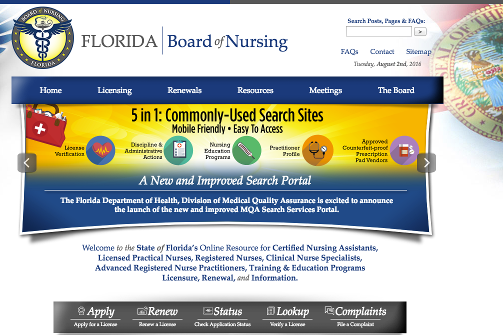 """RN License Verification FL"""