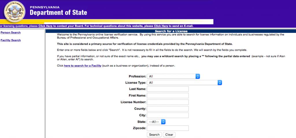license pa rn verification nursing verify board texas